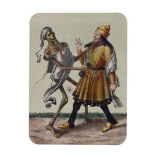 Danza de la muerte en Basilea el   el judío Imanes