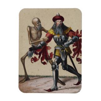 Danza de la muerte en Basilea el | el noble Iman Rectangular