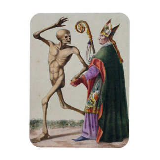 Danza de la muerte en Basilea el   el obispo Imanes De Vinilo
