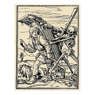 Danza de la muerte, la postal del vendedor