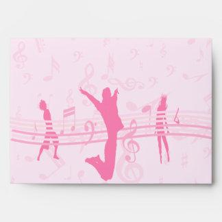 Danza de la música y rosa personalizados del drama