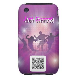 danza de la plantilla del caso del iPhone 3G/3Gs iPhone 3 Tough Cobertura