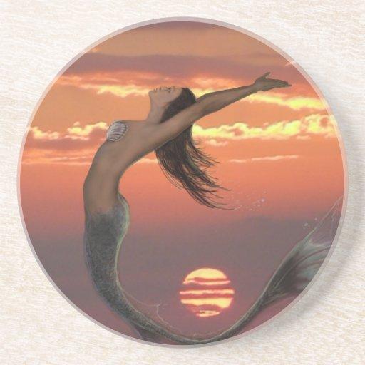 danza de la puesta del sol posavasos manualidades