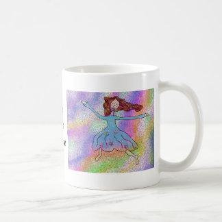 Danza de la risa del amor taza de café