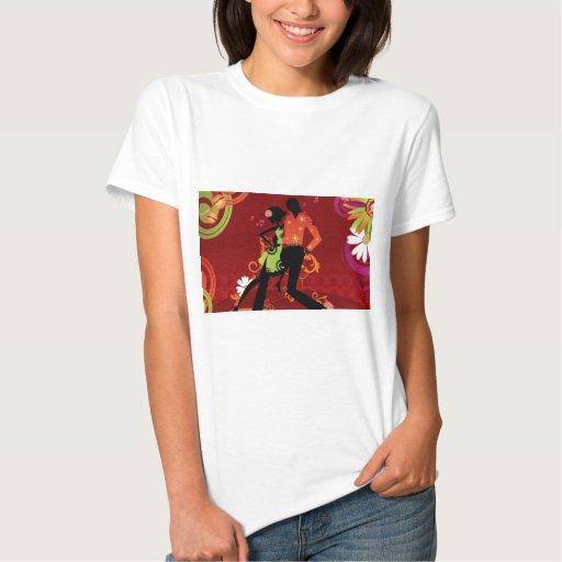 Danza de la salsa t-shirts