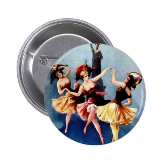Danza de las bailarinas del vintage de NYC Pins
