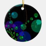 Danza de las esferas II - violeta y trullo cósmico Ornatos