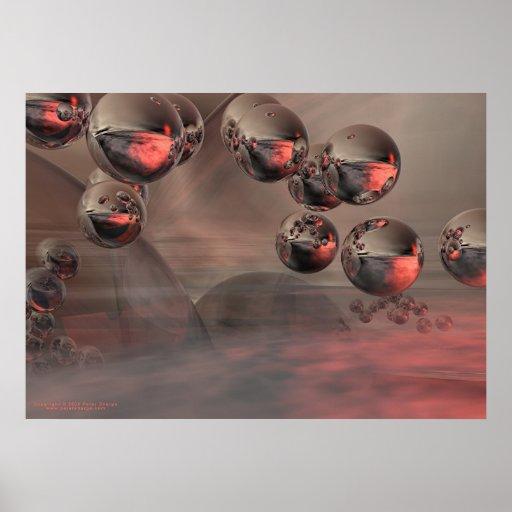 Danza de las esferas póster