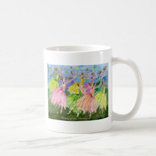 Danza de las flores taza de café