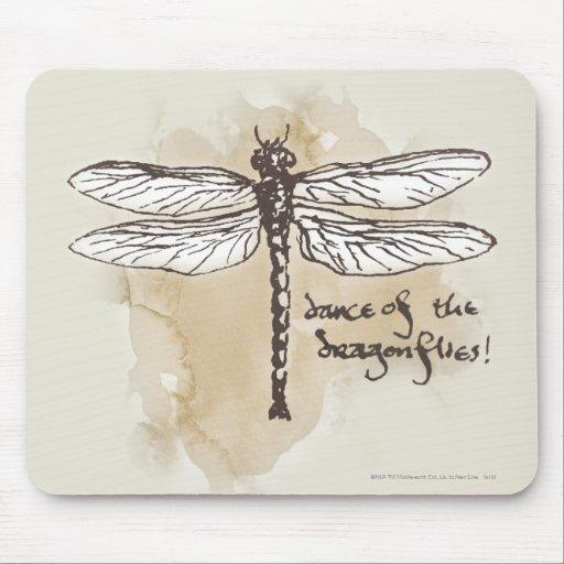 Danza de las libélulas alfombrillas de raton