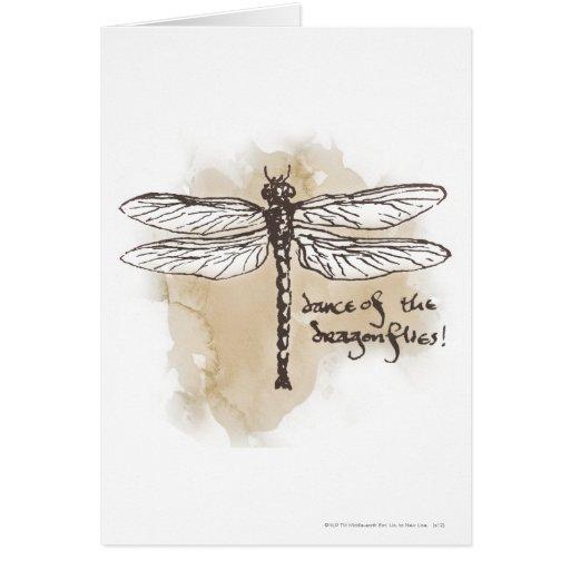 Danza de las libélulas felicitacion