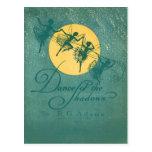 Danza de las sombras--Hadas Tarjetas Postales