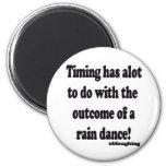 danza de lluvia imán de frigorífico