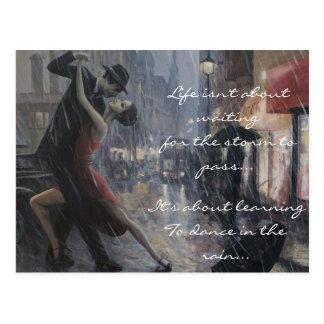 Danza de lluvia postales