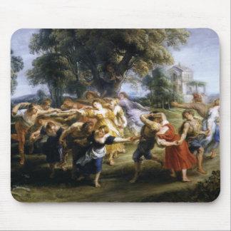 Danza de los aldeanos italianos tapete de ratones