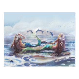Danza de los delfínes postales