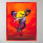 Danza de los dragones del amor de Michelle más sal Poster