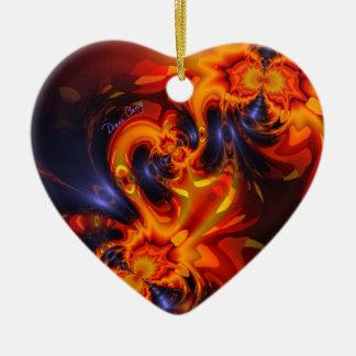 Danza de los dragones - ojos del añil y del ámbar ornamento para reyes magos