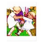 danza de los niños postal