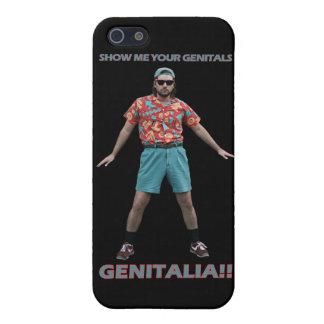 Danza de los órganos genitales iPhone 5 carcasa