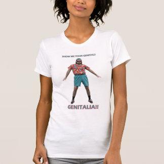 Danza de los órganos genitales camisetas