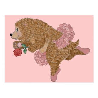 Danza de los osos postal