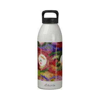 DANZA de los pájaros de la alta MAREA de la LUNA L Botella De Agua Reutilizable