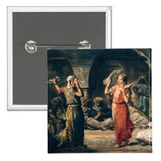 Danza de los pañuelos, 1849 pin cuadrado