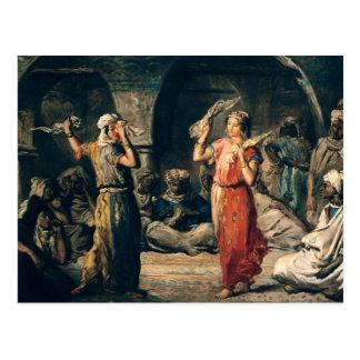 Danza de los pañuelos, 1849 postales