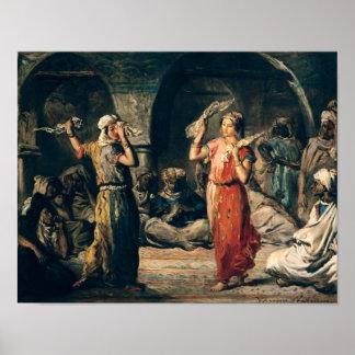 Danza de los pañuelos, 1849 póster