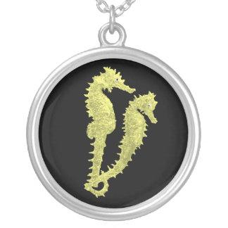 Danza de los Seahorses (amarillo) Grímpola