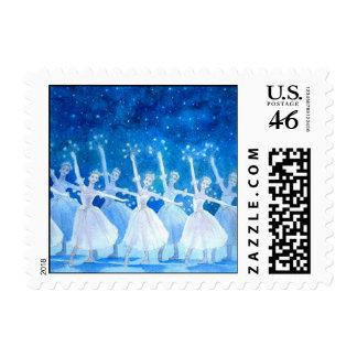 Danza de los sellos de los copos de nieve