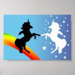 Danza de los unicornios poster