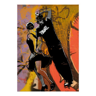 Danza de New Orleans Poster