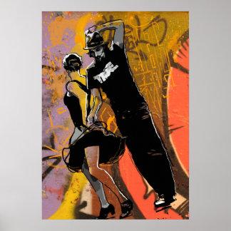 Danza de New Orleans Póster
