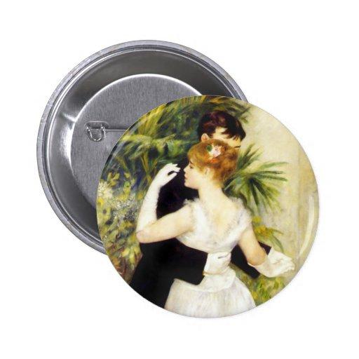 Danza de Renoir en el botón de la ciudad Pins