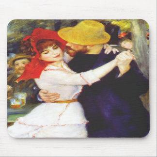 Danza de Renoir en el cojín de ratón de Bougival Alfombrillas De Raton