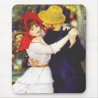 Danza de Renoir en el cojín de ratón de Bougival Tapetes De Raton