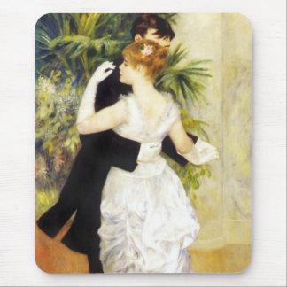 Danza de Renoir en el cojín de ratón de la ciudad Alfombrillas De Ratones