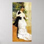 Danza de Renoir en el poster de la ciudad