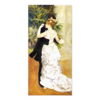 Danza de Renoir en la impresión de la ciudad Cojinete