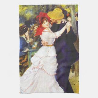 Danza de Renoir en la toalla de cocina de Bougival