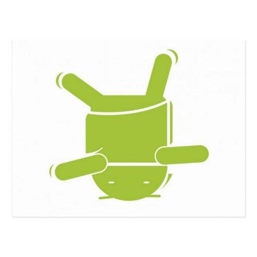 Danza de rotura androide tarjetas postales