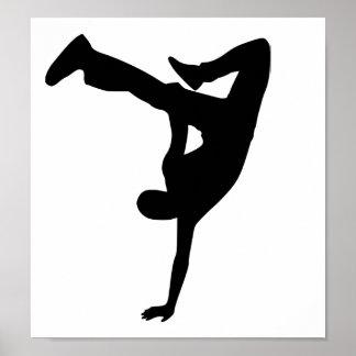 Danza de rotura impresiones