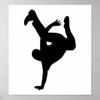 Danza de rotura póster