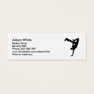 Danza de rotura tarjetas de visita mini