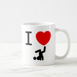 Danza de rotura taza de café