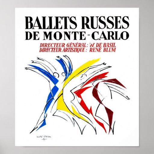 Danza de Russes del ballet Impresiones