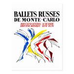 Danza de Russes del ballet Tarjetas Postales