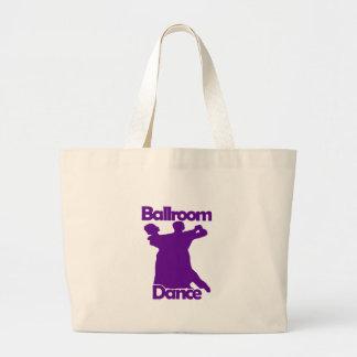 Danza de salón de baile bolsa de mano